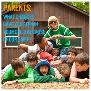 What changes have you seen in your child because of our camp?